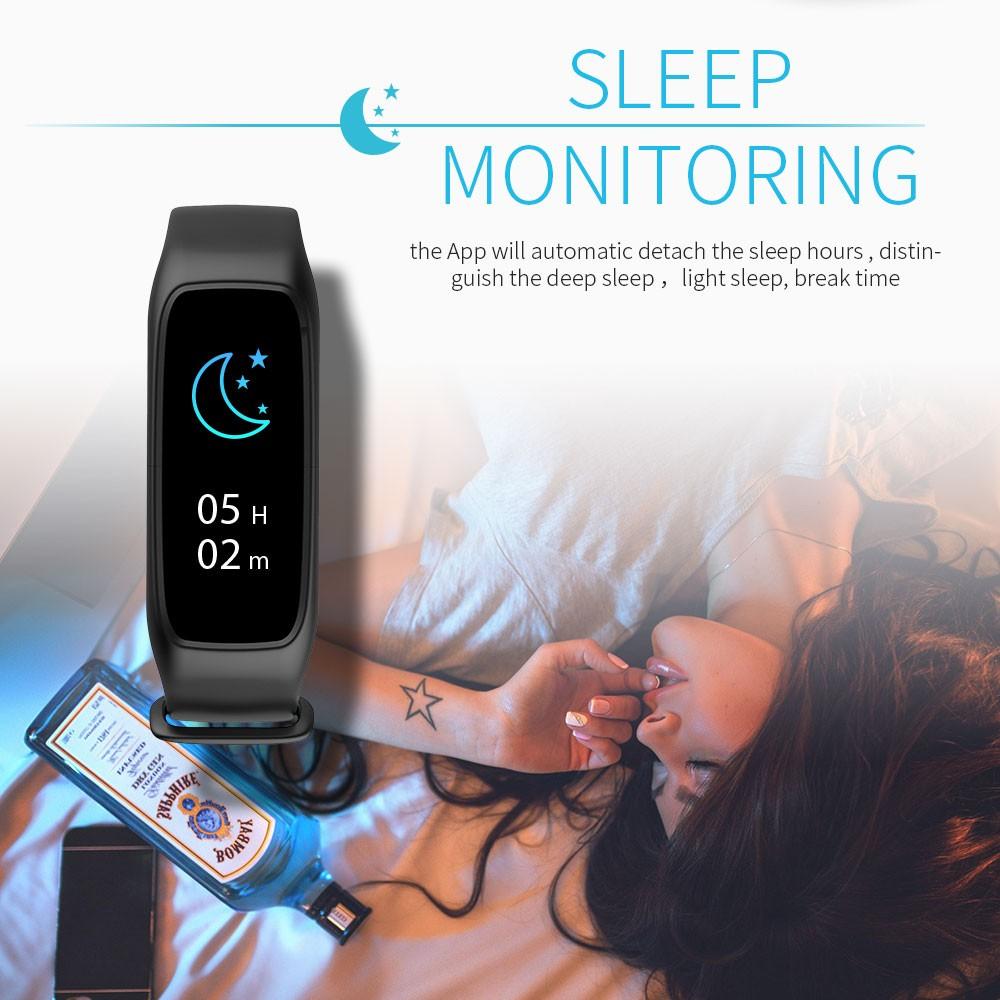 Lemfo l30t kolorowy ekran inteligentny zespół pulsometr krokomierz uśpienia fitness tracker dla andriod ios telefon 10
