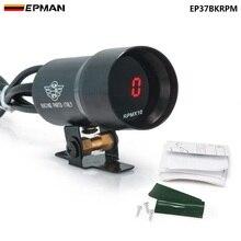 EPMAN-37 мм, тахометр с дымом и тахометром, красный цифровой светильник переключения, стильный манометр, черный, фиолетовый, для Ford Focus 98-12 EP37BKRPM