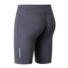 Yuerlian/Для женщин Высокоэластичный, для фитнеса шорты для йоги светоотражающие полосы ночи упражнения Running Скорость Dry Tight Fit Training Pant