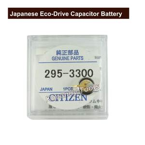 Kocandy Japanese CT 295.33 Eco-Drive Capacitor Battery