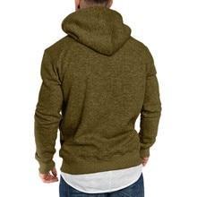 Autumn Men's Hoodies Slim Hooded Sweatshirts Mens Coats Male Casual Sportswear