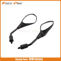 Motorcycle Side Rearview Rear view Mirror Carbon Fiber For BMW 650 F650GS F 650 GS