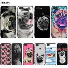YIMAOC Bonito Pug Dog Case for Huawei Companheiro 10 P8 P9 P10 P20 P30 P Inteligente Lite Pro Mini 2017(China)