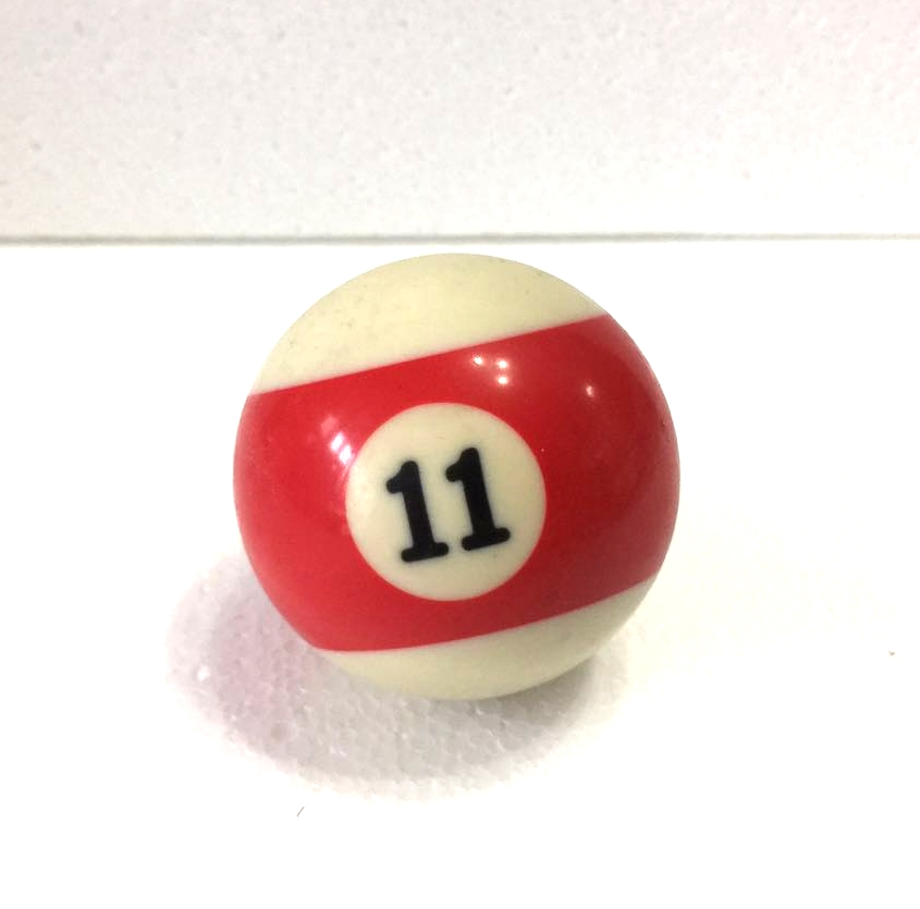 Free Shipping 1pcs NO.11 Pool Snooker Billiard Table Cue NO.11 Ball 2-1/4