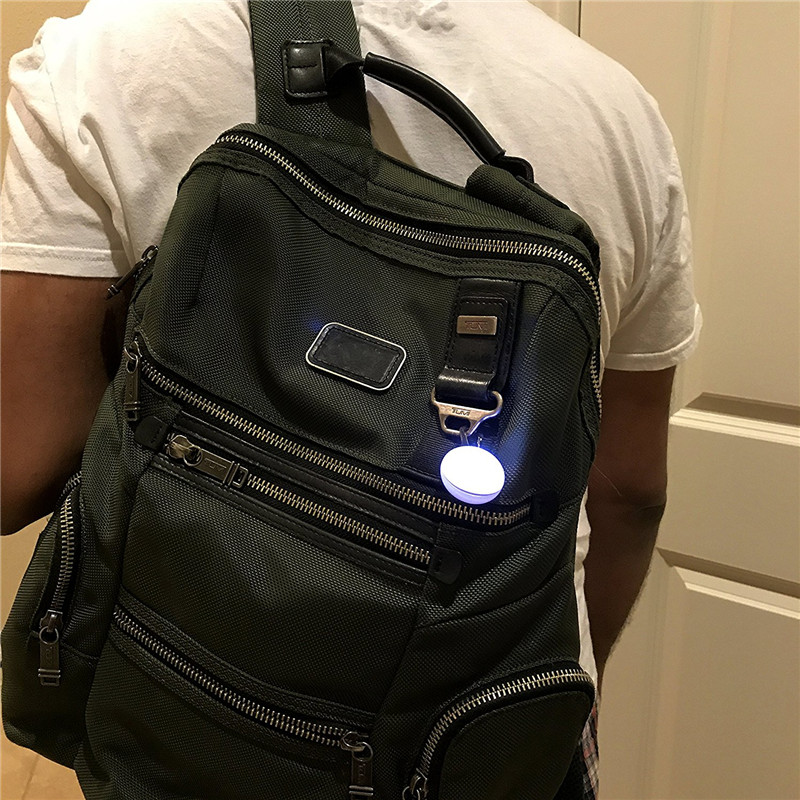 Image 5 - LED Clip on Safety Night Light Colorful Collar Keychain Light with Carabiner Cat Dog Collar Leads Lights high brightness lamp-in LED Night Lights from Lights & Lighting