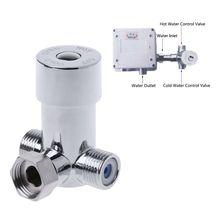 """G1/"""" горячей и холодной воды смесительный клапан термостатический смеситель два в один из"""