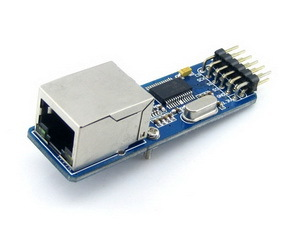 ENC28J60 Ethernet Board For Connecting Microcontrollers To Ethernet Network With RJ45 Connector SPI Interface
