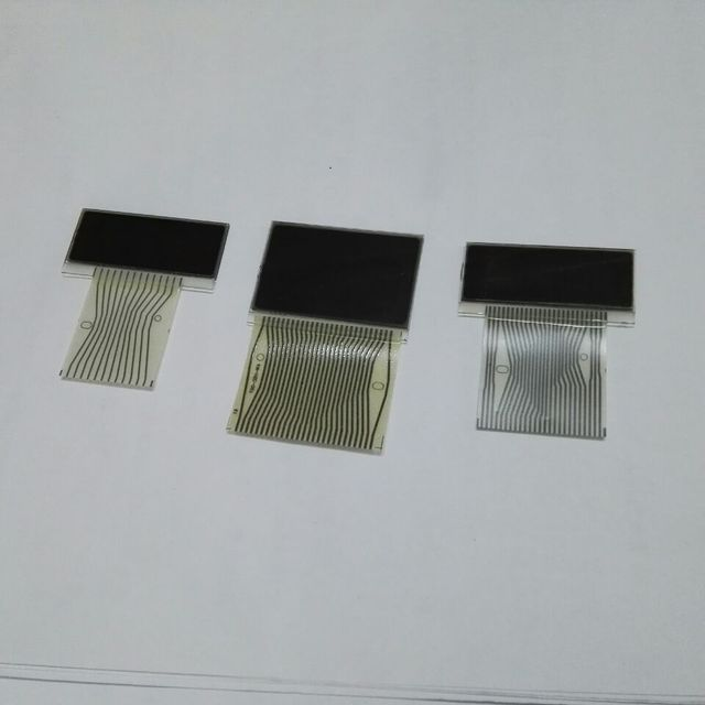 3PCS Full Set LCD Display Screen With Ribbon Cable For Benz Instrument Cluster Dash W210 W202 W208 Mercedes Pixel Repair