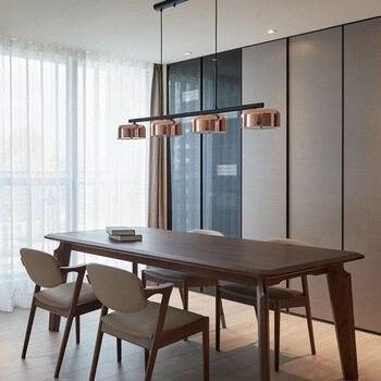 אורות תליון ברזל החדש נורדי Macaron מנורה למסעדה/בר/בית קפה Luminarias תאורה בבית