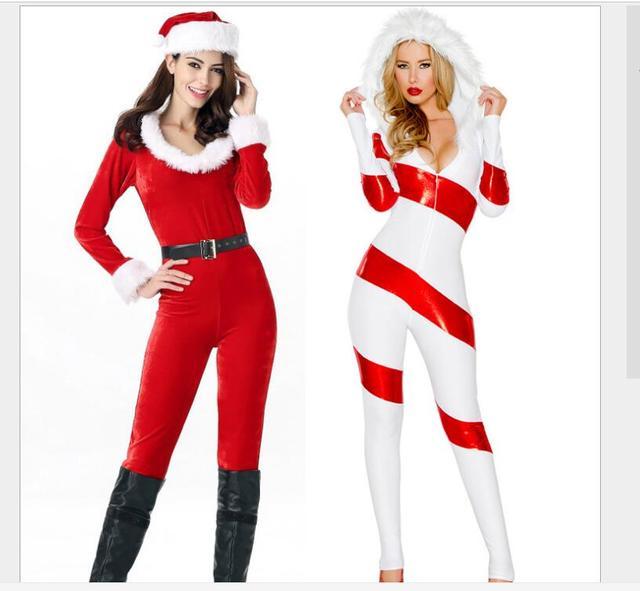 christmas dress sexy red christmas costumes santa claus for adults uniform kimono xmas costume halloween christmas - Christmas Clothes For Adults