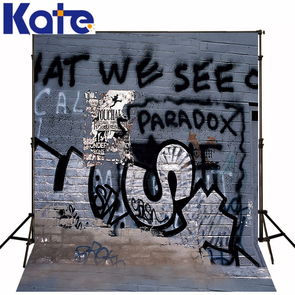 10*6.5Feet(300*200Cm) Photography Backdrops Graffiti Alphabet Messy Camera Fotografica Free Shipping 10 6 5feet 300 200cm photography backdrops vast blue sky and white clouds sofa free shipping