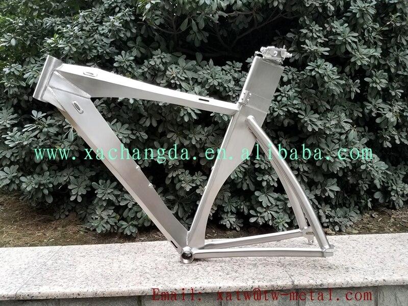titanium TT bicycle frame 700C titanium titanium Triathlon bike frame