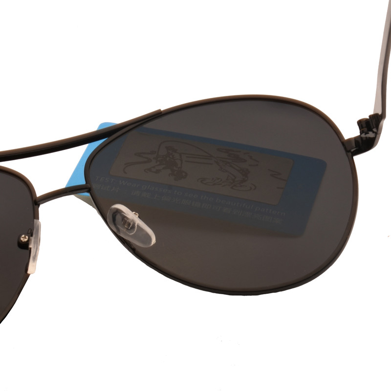 2018 Merek Desainer Terpolarisasi Kacamata Pria Polaroid Goggle - Aksesori pakaian - Foto 6