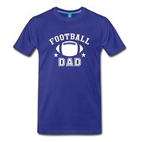 Footballer Dad Men S Premium T Shirt Casual Plus Size T Shirts Hip Hop Style Tops