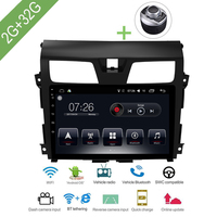 Car Multimedia player 1 Din Android Car DVD For Nissan Teana 2015 2018 10.1 2G/32G touch screen Car Radio GPS