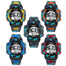 Outdoor Multifunction Waterproof kid Child/Boy's Sports Electronic Watches Watch
