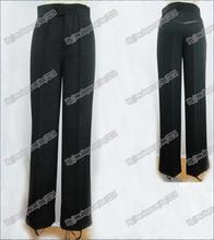 Black Satin Ribbon On Side Men s Latin Pants Mens Pants Latin Dance Pants Latin Ballroom