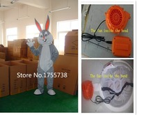 Adult Kids Size gray Bugs Bunny Mascot Costume Rabbit For Festivals Party Dress