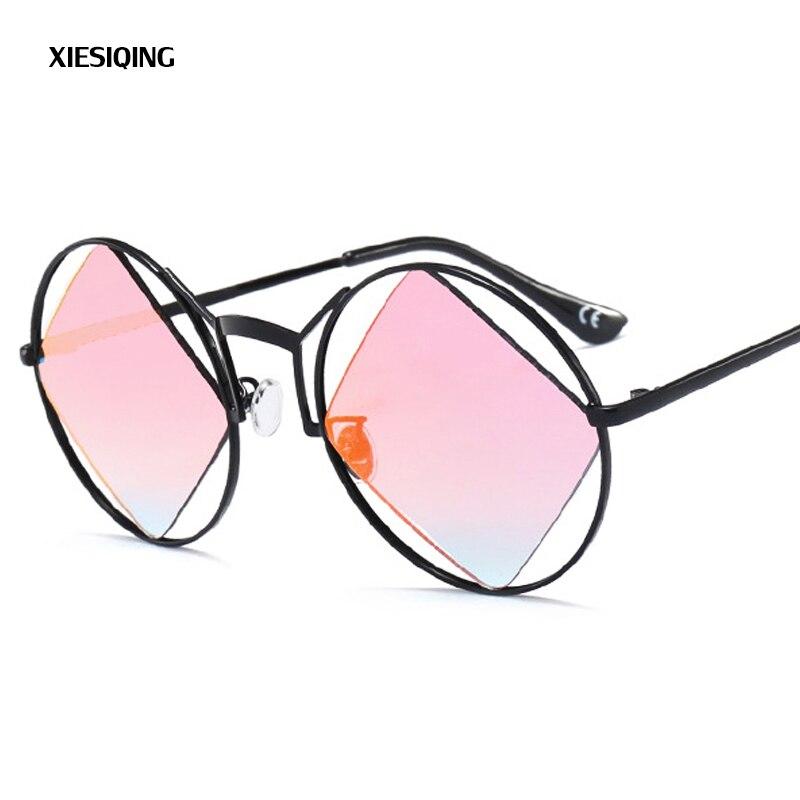 2017 mode Runde Metallrahmen Sonnenbrille männer Vintage Klassische Prince Gläser Runden Rahmen intarsien Square Objektiv Sonnenbrillen