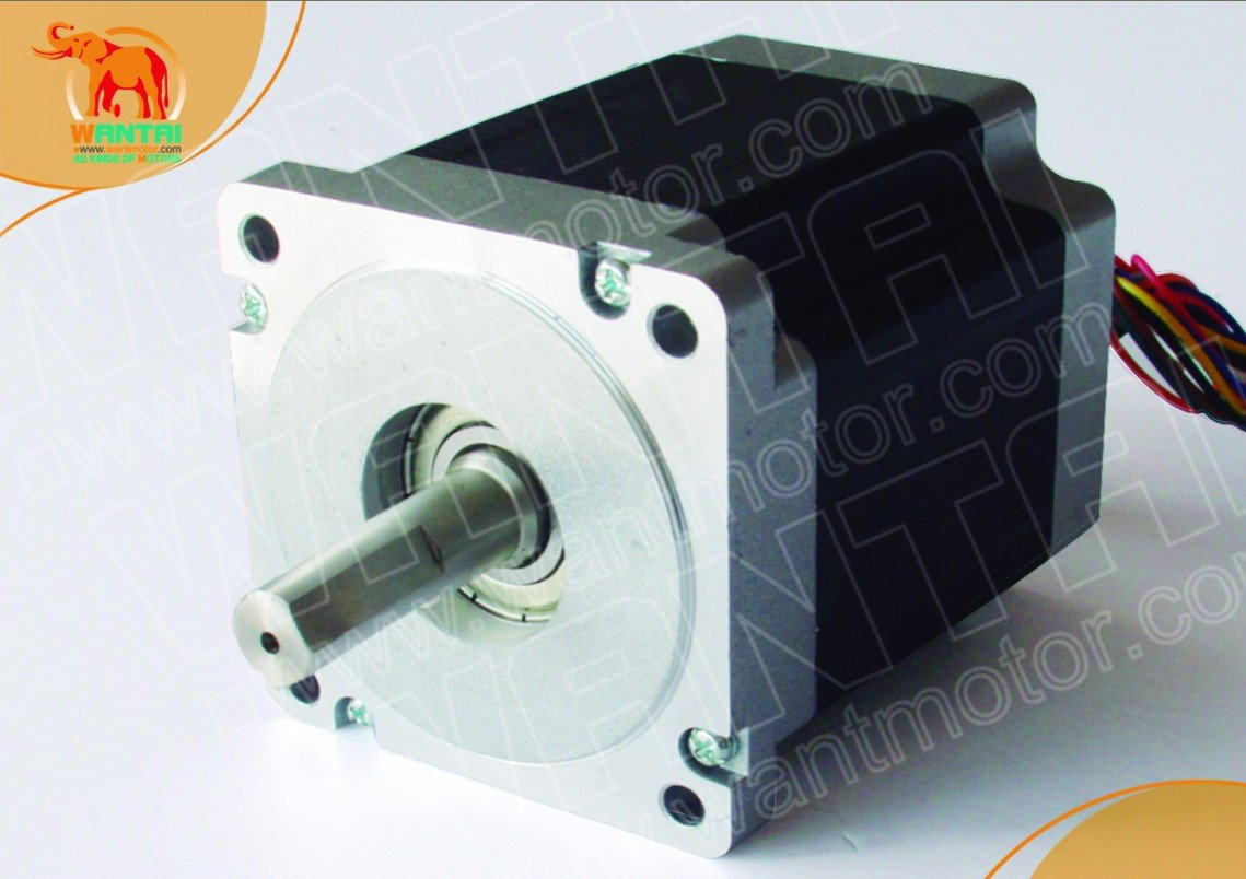 High Quality Nema 34 Stepper Motor 892oz-in,2.0A, 8 Leading-wire CNC Kit fast shipping from Wantaimotor 76zy01 mig motor wire feed motor wire feeder motor dc24 1 8 18m min 1pk
