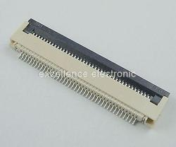 50 sztuk FPC 0.5mm Pitch 40 Pin klapki typu wstążka płaskie złącze mających kontakt z dnem w Złącza od Lampy i oświetlenie na