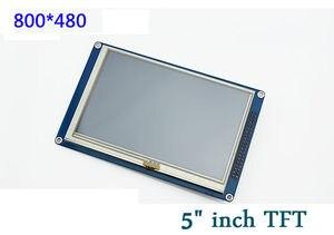 """Image 2 - 新しい1ピース5 """"インチtft液晶ディスプレイモジュール800 × 480 +タッチスクリーン用arduinoのuno r3原因"""
