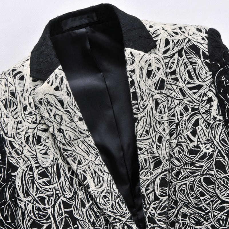 Asstseries Jaket Pria Plus Ukuran 6xl Merek Dish Sutra Bisnis Setelan Besar Jaket Pria Ramping Sesuai Bisnis Setelan Jaket Pria jaket