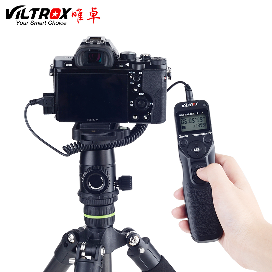 Viltrox Timer Remote Control Shutter Intervalometer With