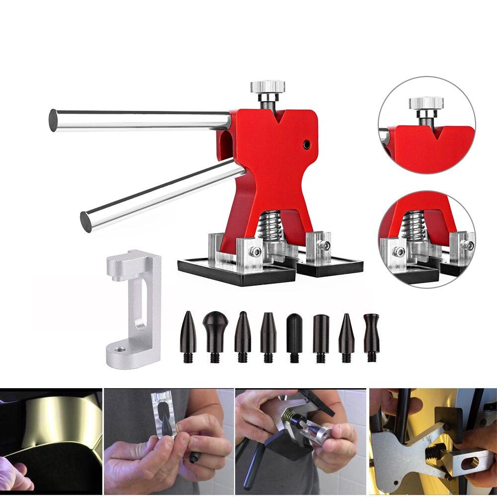 Pdr Outils Ensemble Dent Lifter Porte Bord Bosses Remover Voiture Fender Roue Sourcils Meilleure Qualité