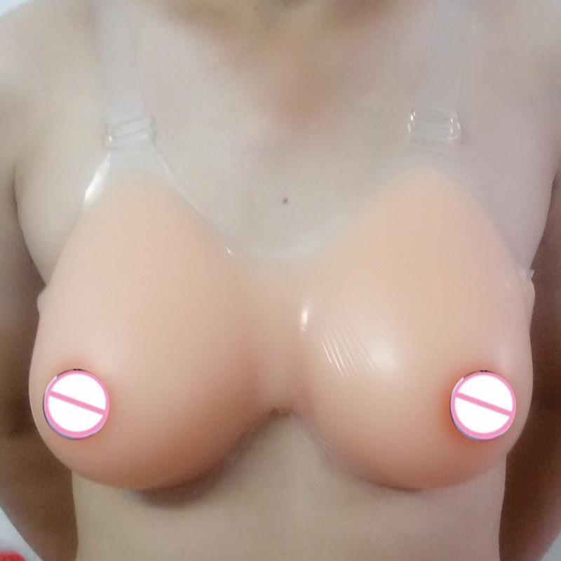 Topleeve 3600g/pair Sz 50 52 54  Top quality men fake breast costume crossdresser huge breast forms silicone breast enhancers