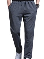 Mens Solid Drawstring Big And Tall Pants Sweatpant Tracksuit Cargo