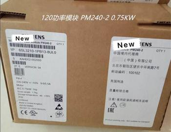 100%New In original box  2 year warranty  6SL3210-1PB13-8UL0 0.75KW