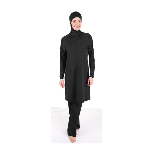 S-5XL Plus Size Muslim Swimming Clothes Arabic Islamic Clothing Abaya Sale Black Muslim Swimsuit Habit Femme Swimwear