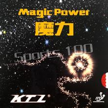 KTL Magic Power Half Long Pips-Out Table Tennis / PingPong Rubber with Sponge