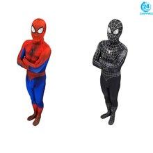 купить 3D printing Spiderman 3 Black Symbiote 3D Cosplay Costume Zentai Spider Man Superhero Bodysuit Suit Jumpsuits Halloween дешево