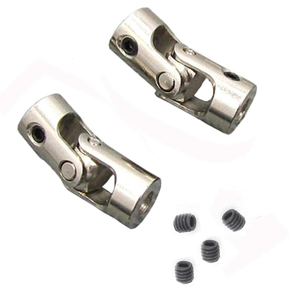 Acoplador de eje 3mm to 3mm conector de cobre para motor junta de transferencia de acoplamiento acoplador de acoplamiento de eje pr/áctico para modelos de barcos