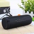 Esporte Ao Ar Livre à prova d' água Bluetooth Speaker Sem Fio Super Bass Subwoofer Caixa de Som FM stereo Speaker Portátil Luz LED
