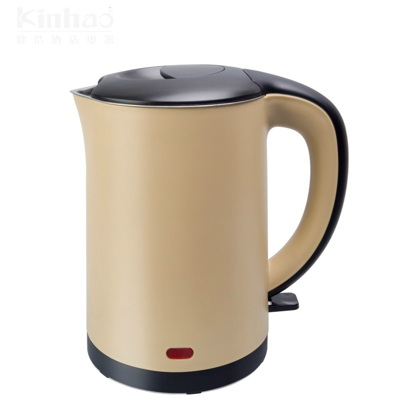 Фотография Small capacity electric kettle double insulation 304 stainless steel health care foam teapot