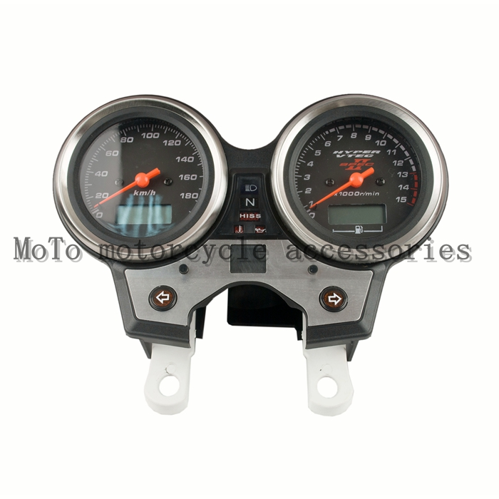 Motorcycle Speedometer Tachometer Odometer KM/H RPM Instrument Meter Assembly For Honda CB400 vtec 2 2002-2004(no line) free shipping motorcycle accessories modified for honda cb400 1992 1998 vtec 99 07 new high water pump assembly