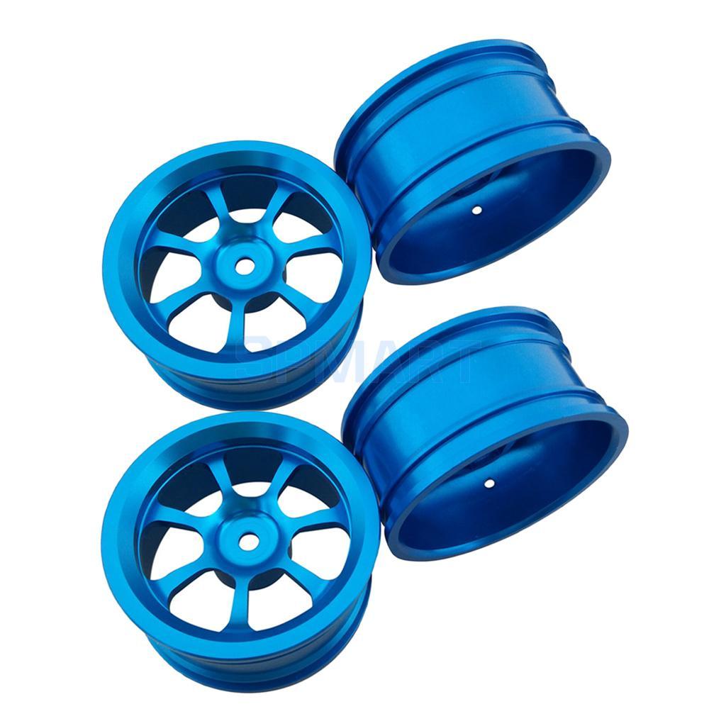 4pcs Alloy Rim Wheel hub Spare Parts for 1/18 Wltoys A959-B A979B A959 A969 wltoys машина радиоуправляемая a959 a цвет серо зеленый