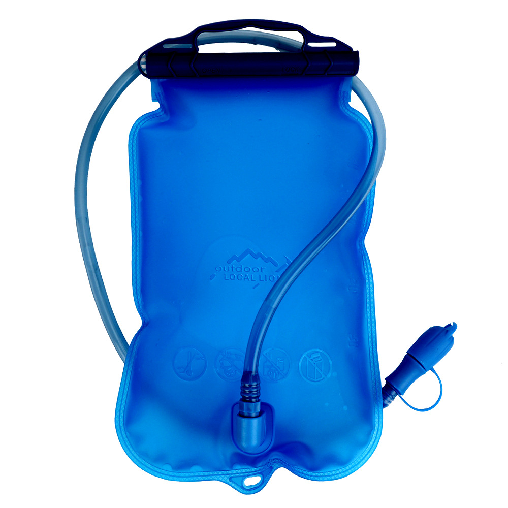 2L/1L/1.5L Water Bag Hydration Bicycle Big Mouth Water Bladder Outdoor Sport Running Camping Cycling Hiking Bladder Bags