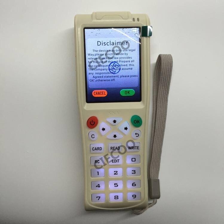 Frequency Smart ID IC Card Copy Machine Newest ICopy 3 Full Decode  Smart Card  RFID NFC Copier IC/ID Reader/Writer Duplicator