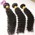 Silky Brazilian Deep Wave Hair 3 pcs Lot BHF Hair Mink Brazilian Virgin Human Hair 7A Brazilian Curly Virgin Hair Wet And Wavy