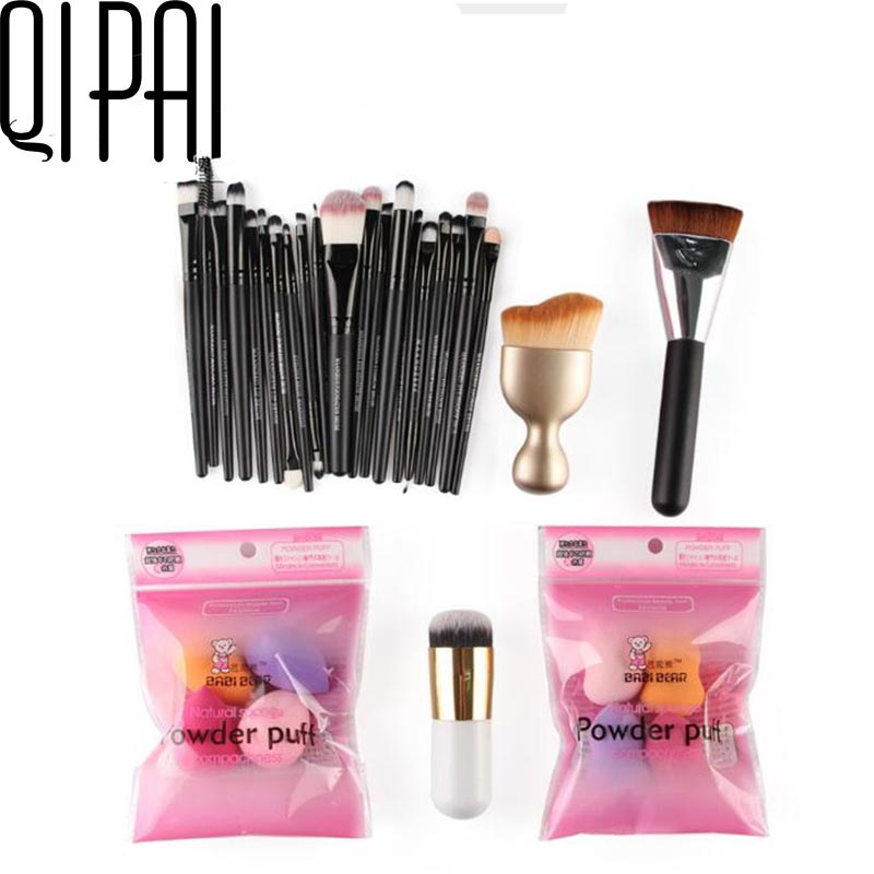 6pcs/Kit Pro Makeup Brush Set Powder Blush Eye Shadow Foundation Blending Make Up Brush Sponge Beauty Cosmetic Tool shoushoulang w211 professional makeup brush squirrel hair eye shadow brush ebony handle cosmetic tool eye shader make up brush