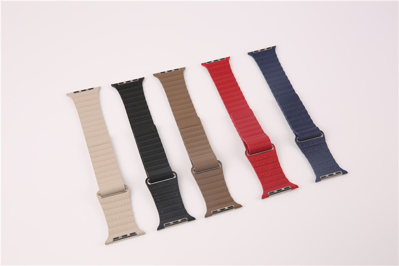 For Apple Watch Leather Loop Strap (6)