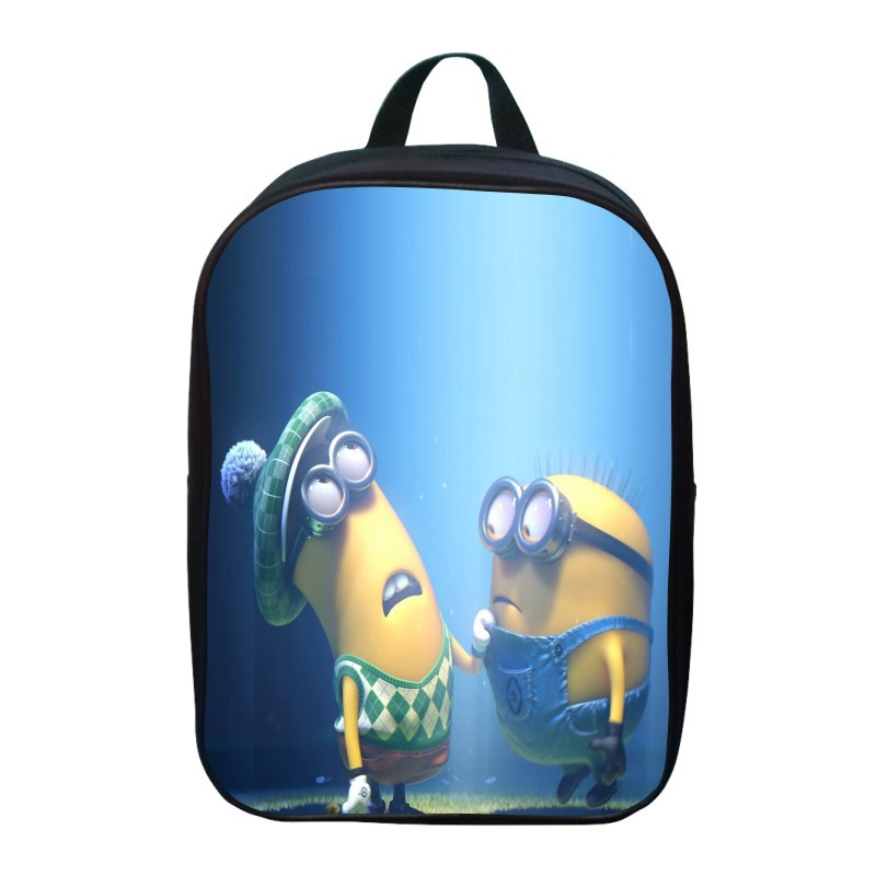 New Fashion Monster Small Bag Children School Bags for Girls Cartoon Minions Bag Backpack Kids Bag Boys Bagpack Mochila Escolar image