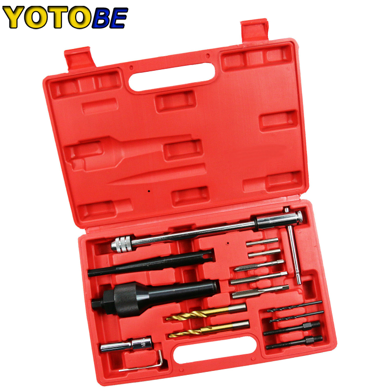 16pcs Damaged Glow Plug Removal Remover Thread Repair Car Garage Tool Kit Set-in Engine Care from Automobiles & Motorcycles on AliExpress - 11.11_Double 11_Singles' Day 1