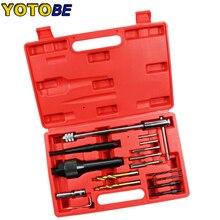 16 pcs Danneggiato Candeletta di Rimozione di Rimozione di Riparazione Filo Auto Garage Tool Kit Set