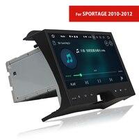 Сенсорный экран автомобильный радиоприемник с навигацией для Kia Sportage 2010 ~ 2012 2 Din Android dvd плеер с GPS TV WIFI Bluetooth USB AUX