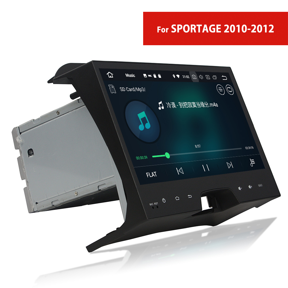 Touch Screen Car Radio with Navigation for Kia Sportage 2010~2012 2 Din Android DVD Player with GPS TV WIFI Bluetooth USB AUX